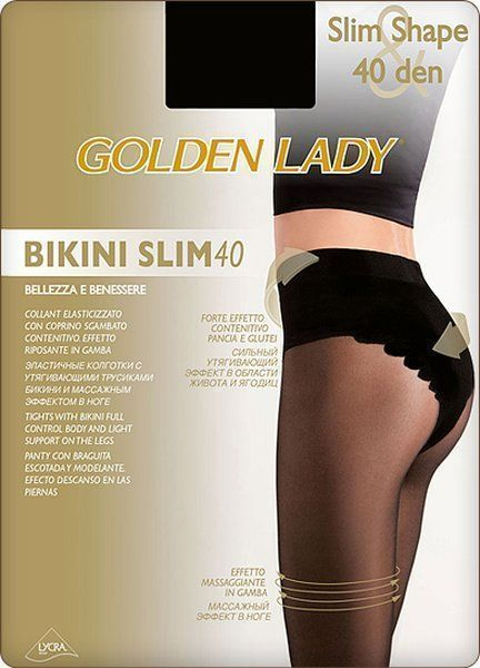 Утягивающие Golden Lady BIKINI SLIM 40